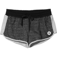 Hurley Gray Dri-Fit Beachrider Fleece Short - Women's
