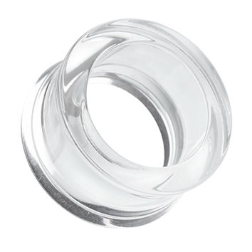 Acrylic Double Flared Ear Gauge Tunnel Plug