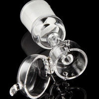 Domeless Quartz Nail with Swing Lid Carb Cap
