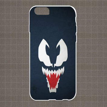 Minimalistic Venom iPhone 4/4S, 5/5S, 5C Series Hard Plastic Case