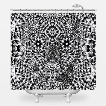 Skull 7 Shower Curtain