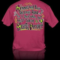 Sweet Thing Funny Mommas Hearts Forever Girly Bright T Shirt