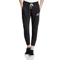 """Nike"" Women Sports Casual Letter Print Thin Knit Leisure Pants Trousers Sweatpants"