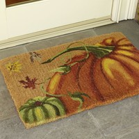 Painted Pumpkin Doormat