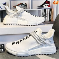 Adidas Human Race Nmd Fashion New Sports Leisure Women Men Running Shoes
