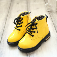 Baby Kids Martin Boots Childrens Shoes