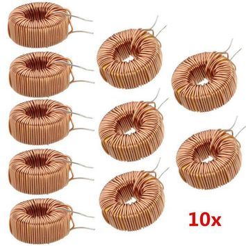 10pcs 330UH 3A Toroid Core Inductor Wire Wind Wound