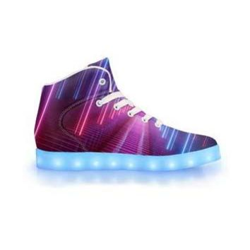 Vortex - APP Controlled High Top LED Shoe