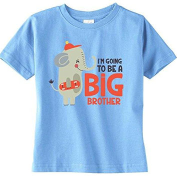Lil Shirts I'm Going To Be A Big Brother Youth & Toddler Shirt