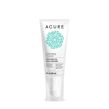Acure Organics Dry Oil Body Spray, Captivating Coconut - 2 oz