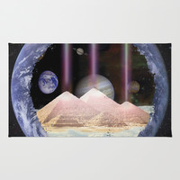 Trinity in Time Area & Throw Rug by Amelia Carrie | Society6