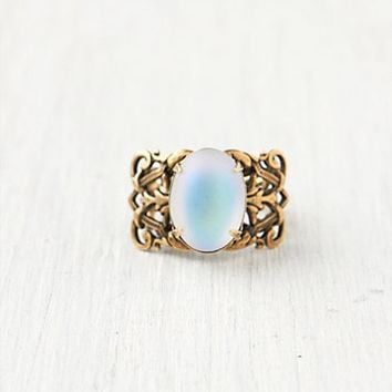 Free People Ornate Moonstone Ring