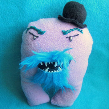 Mister Derby - Dapper Mustache and Beard Monster Plush