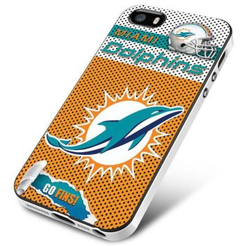 Miami Dolphins Jersey Logos iPhone 5 | 5S | 5SE Case Planetscase.com