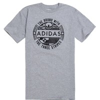 Adidas Kente Waxxx Seal T-Shirt - Mens Tee - Grey