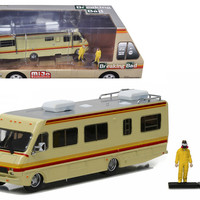 1986 Fleetwood Bounder RV Breaking Bad (2008-13 TV Series) with 2 Figures 1/64 Diecast Model  by Greenlight