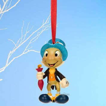 Licensed cool JIMINY CRICKET PINOCCHIO DISNEY STORE 2014 SKETCHBOOK CHRISTMAS ORNAMENT NEW