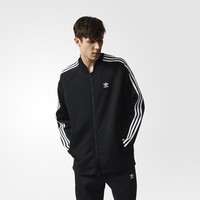 Adidas Men Coat Sportswear Black Top