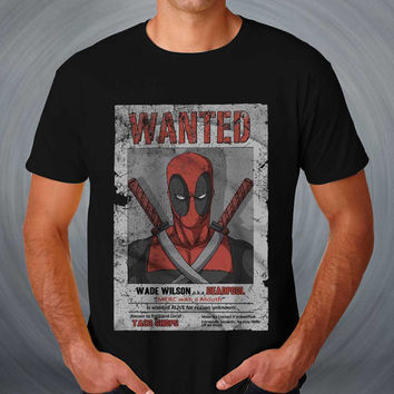 Deadpool T-shirt Deadpool wanted