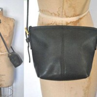 ONETOW Coach Black Purse / Leather Small Bag