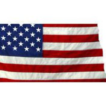 State of North Dakota Realistic American Flag Window Decal - Various Sizes