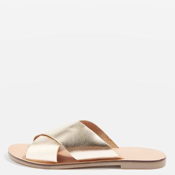 HOLIDAY Cross Strap Mule Shoes | Topshop