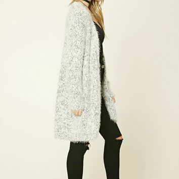 Contemporary Fuzzy Cardigan