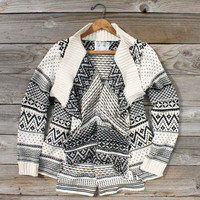 Wood Sled Sweater in Cream