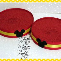 Mickey Mouse Stands - Lollipops or Cakepops Stands - Mickey Mouse Inspired Party - Mickey Mouse Party - Mickey Mouse - SET OF 2