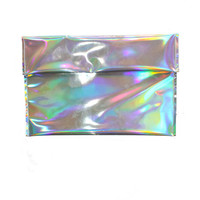 Holographic Mermaid Clutch