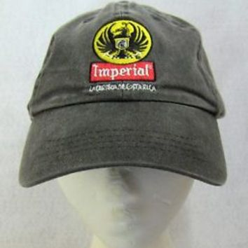Imperial Cerveza Hat Cap Imperial Beer COSTA RICA ADJ STRAP Central America