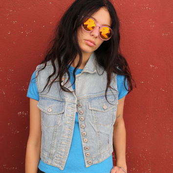 BREAKER DENIM VEST