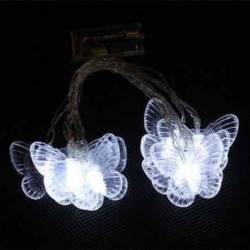Electric Butterfly String Lights : Best 10 Light String Products on Wanelo
