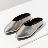 UO Metallic Pointy Mule   Urban Outfitters