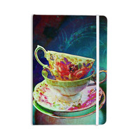 """alyZen Moonshadow """"Mad Hatters T-Party V"""" Yellow Green Everything Notebook"""