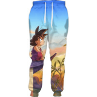 Son Goku Sunset Joggers