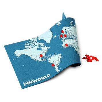 Pin World Map | interactive map