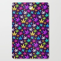 Colorful OG Herb Pattern Cutting Board by tmarchev