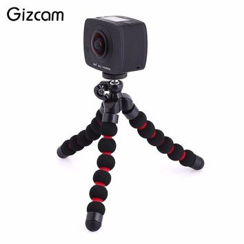 Gizcam 360 degree Panorama Dual Lens 20MP 4K HD WiFi Cam Camcorder Video Camera W/ TF Card Slot