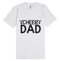 Cheer Dad-Unisex White T-Shirt