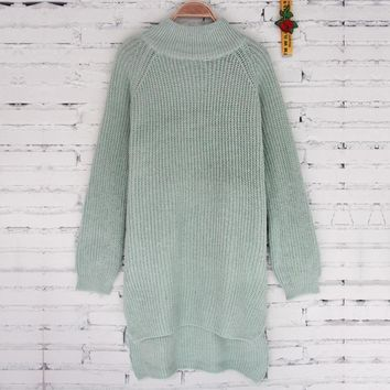 Knit Tops Winter Women's Fashion Sweater [11335930695]