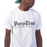 Party Time Tee - White