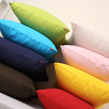 Sweets Cotton Canvas Cushion Cover [6451588934]