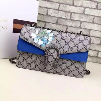 Gucci Dionysus GG Supreme Shoulder Bag 400249301