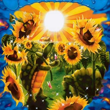 Grateful Dead Terrapin Sunflowers Poster 24x36