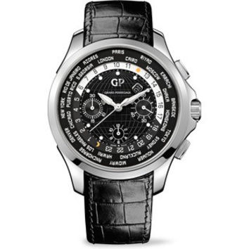 Girard-Perregaux Traveller ww.tc Chronograph Steel Men's Watch 49700-11-631-BB6B