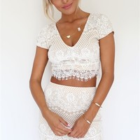Delicate Lace Set | SABO SKIRT