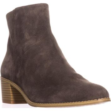 Clarks Breccan Myth Ankle Boots, Khaki Suede, 7.5 US / 38 EU