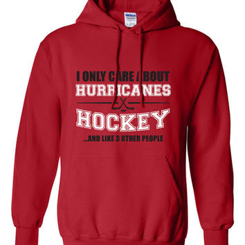 Carolina Hurricanes Hockey Sweater NHL Canes Hockey Mens Birthday Gift Christmas Gift Ultimate Hockey Fan Custom Hoodie Team Pride BD-211