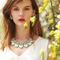 Seastone Necklace by BaubleBar x Anthropologie